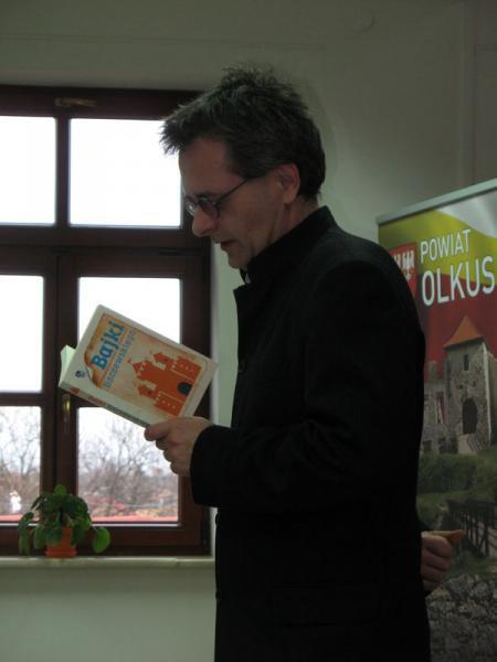 Baczewski i jego bajki fot Olgerd Dziechciarz